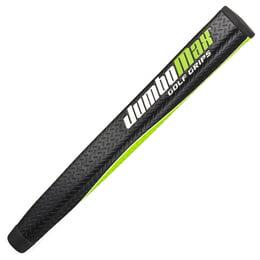Mid-Jumbo Putter Grip Black/Lime/White